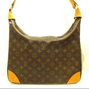 Auth LOUIS VUITTON Boulogne Monogram Shoulder Bag